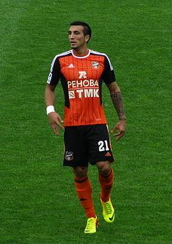 Gerson Acevedo seguirá en el fútbol ruso en el Ural Sverdlovskaya Oblast.