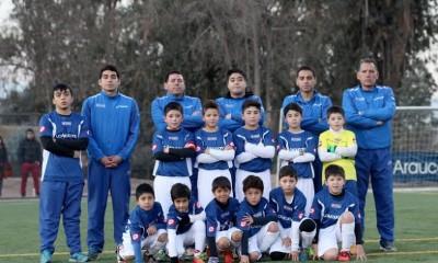 la araucana infantil futbol