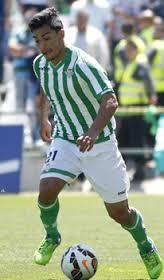 En el Real Betis jugará el chileno, Lorenzo Reyes.