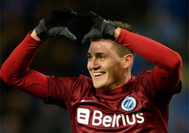 Nicolás Castillo retorna a Bélgica a jugar por Brujas.