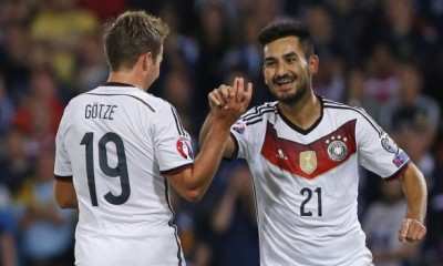 Gündogan anotó el definitivo 3-2 en favor de Alemania..