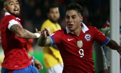 Varguitas es goleador en la era Sampaoli.