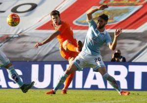 Valencia le encajó una goleada a domicilio a Celta de Vigo.