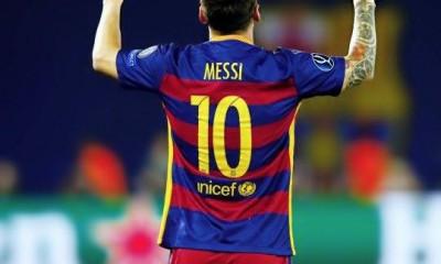 Messi anotó un golazo de tiro libre.