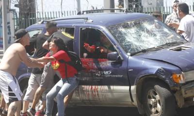 Incidentes en Valparaíso