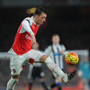Özil es el mejor asistidor de la Premier League.