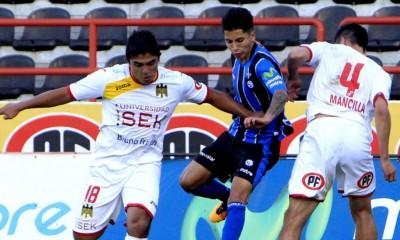Bryan Vejar anotó el mejor gol de la tarde-noche en Talcahuano.