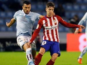 Con goles de Griezmann y Ferreyra-Carrasco, el Atlético de Madrid se impuso al Celta de Vigo.