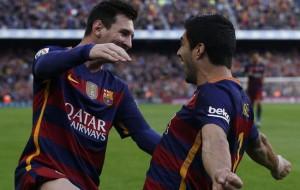 Messi y Suárez se encargaron de dar vuelta el marcador para el Barça.