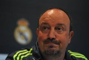 Benítez sólo alcanzó a estar media temporada como DT del Real Madrid.