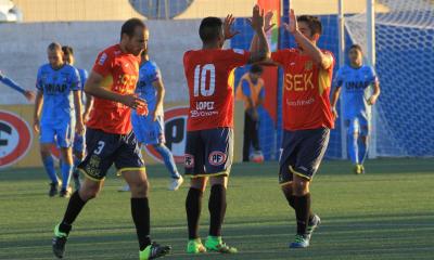 Unión Española dio vuelta el partido ante Deportes Iquique.