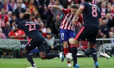 Atlético de Madrid ganó en la ida al Bayern Munich