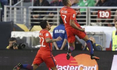 Chile celebra su paso a Semifinales