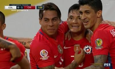 Charles Aranguiz fue figuraza. El volante cree que Chile tiene un gran plantel para  lograr la Copa.