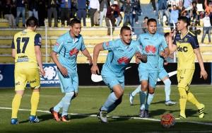 Pese a ganar en la ida, la U. de Conce no pudo ante Bolívar y se despidió de la Sudamericana.