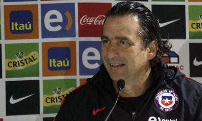 16 de Mayo del 2016/SANTIAGO  El Técnico de la Selección , Juan Antonio Pizzi  , realiza una conferencia de prensa de cara a la Copa Centenario a realizarse en el mes de Junio en eeuu.  FOTO: RODRIGO SAENZ/AGENCIAUNO