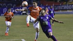 La UC no tuvo un buen partido en Bolivia.