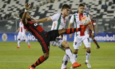 Palestino sufrió una dura derrota ante Flamengo y complicó sus chances de seguir avanzando en la Copa Sudamericana.