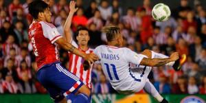 Tras el gol, Chile pudo haber llegado al empate, peor no logró concretar las ocasiones que se creó.