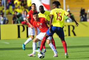 Chile no logró ganar a Ecuador en el Atahualpa.