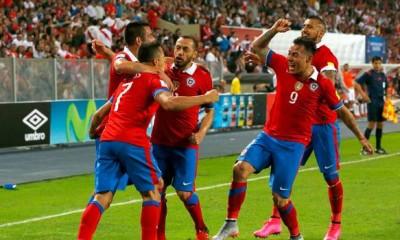 En el último partido, Chile derrotó por 4 a 3 a Perú, en Lima. Dos goles de Alexis Sánchez y dos de Eduardo Vargas.