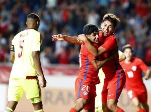 Chile venció a Venezuela en el inicio del hexagonal final sub 17.