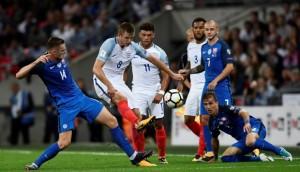 Eric Dier empató el partido para Inglaterra ante Eslovaquia.