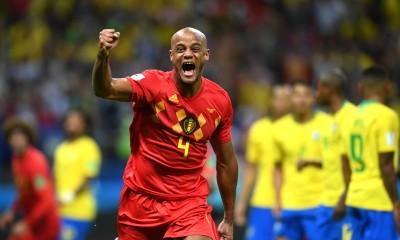 Bélgica hizo historia al dejar eliminada a Brasil y acceder a la semifinal de la Copa del Mundo.