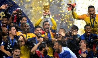 Francia campeón del Mundial de Rusia 2018.