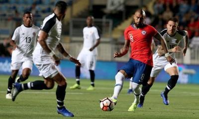 Chile cayó ante Costa Rica en un amistoso jugado en Rancagua.