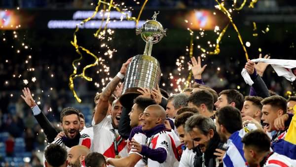 River Plate venció por 3 a 1 a Boca Juniors en la final de la Copa Libertadores que se jugó en el Santiago Bernabeú en Madrid.