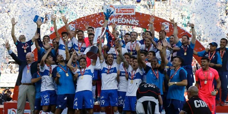 Universidad Católica es el nuevo campeón del fútbol chileno. Es el título número 13 de la UC.