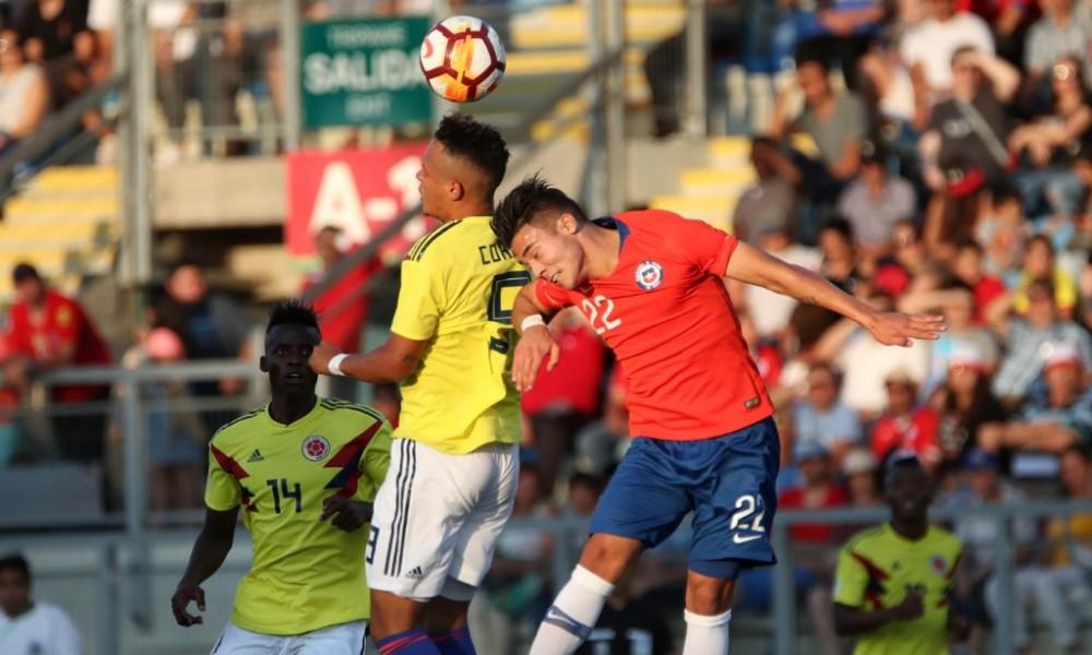 CHILE Sub 20 vs Colombia (Sudam Sub 20 Nota 6)