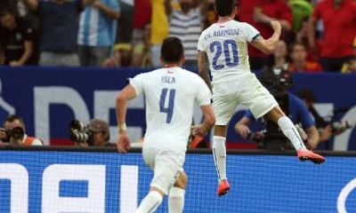 CHILE vs España (archivo Mundial 2014 1)
