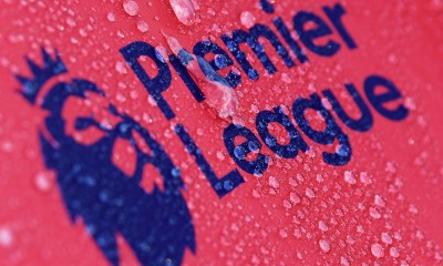BOURNEMOUTH, ENGLAND - SEPTEMBER 15:  Raindrops are seen on a Premier League logo prior to the Premier League match between AFC Bournemouth and Brighton and Hove Albion at Vitality Stadium on September 15, 2017 in Bournemouth, England.  (Photo by Mike Hewitt/Getty Images)