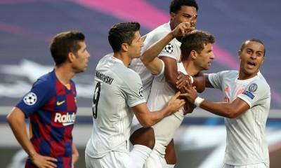 bayern gol barcelona