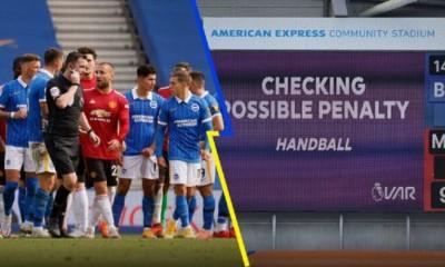 video-arbitro-marco-penal-manchester-united-partido-terminado-victoria-brighton