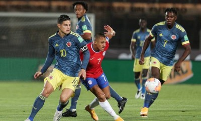 Chile Colombia alexis james rodriguez