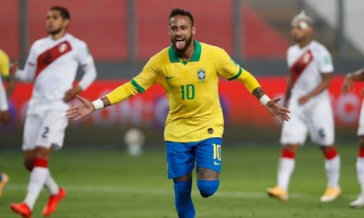 neymar gol brasil