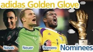guantes de oro
