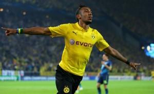 Aubameyang sentenció el primer duelo de Champions entre el Borussia Dortmund y el Arsenal.