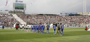 """La """"U"""" visitará el Monumental este domingo con la aspiración de acabar con la racha de los albos en su estadio."""