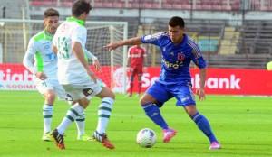 Espinoza fue la pieza clave de Universidad de Chile y con su lesión se notó su ausencia