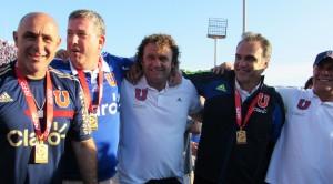 Martín Lasarte y su cuerpo técnico se transformaron en el más exitoso en la historia de los campeonatos cortos.