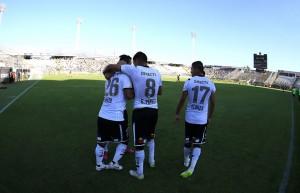 Chupete y Paredes aportaron su cuota goleadora en la boleta del cuadro popular sobre Barnechea.