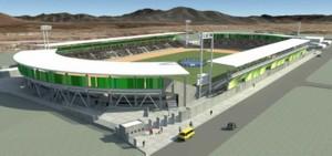 Este es el estadio que prometieron hace seis años.