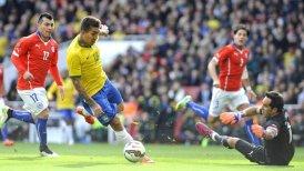 Claudio Bravo destacó la actitud de Chile ante Brasil.