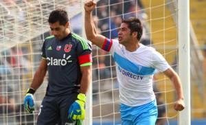 El Huaso ha jugado más de 300 partidos por la UC, en donde ha convertido 35 goles.
