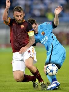 Messi cumplió su partido número 100 en Champions.