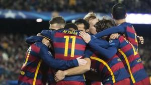 El Barça a pie firme en la Liga y en Champions League.